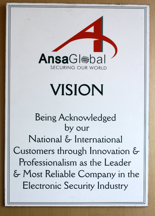 AnsaGlobal Major Sponsor