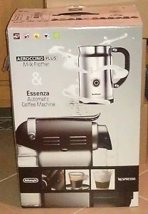 Delonghi Essenza coffee machine